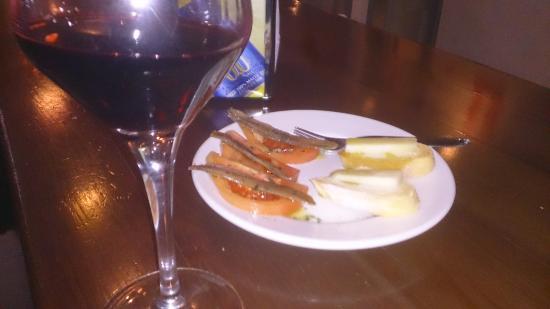 Cafe Bar Varela 11: LOPEZ DE HARO CON QUESOS Y SETAS