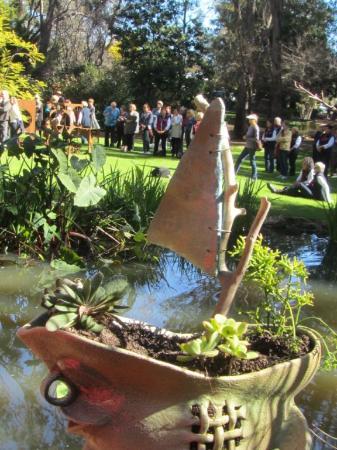 Holberry Sculpture Walk: Succulent Ships