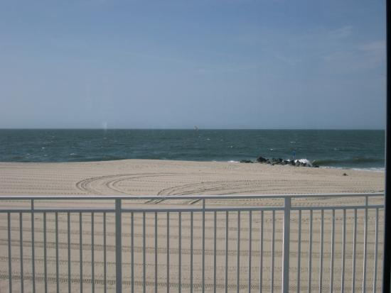 Cape May Convention Hall: A view of the beach and ocean from the Convention Center