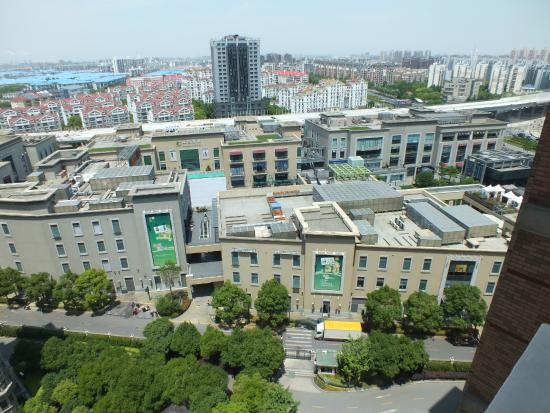 Lanson Place Jin Qiao Serviced Residences: View from balcony