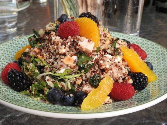 Konditorei: Quinoa salad-5 stars!