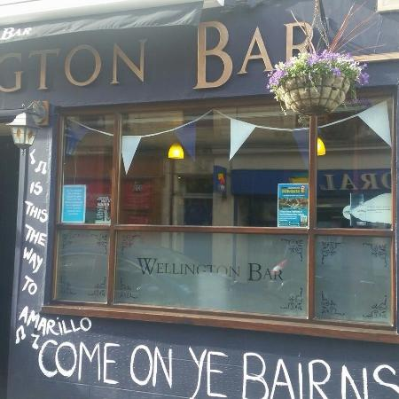 The Wellington Bar Falkirk