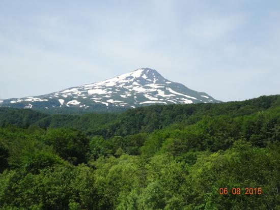 Hotel Foresta Chokai: 部屋から見える鳥海山