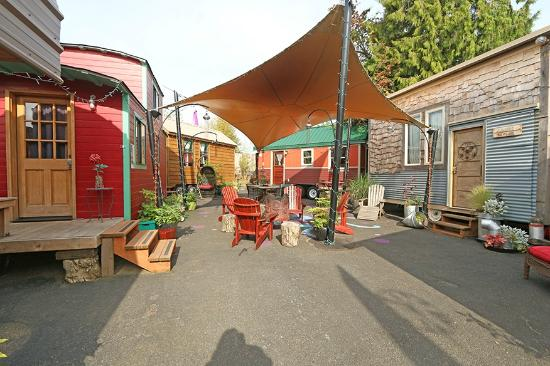 the Rosebud Picture of Caravan The Tiny House Hotel Portland