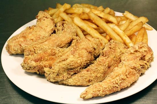 Chicken tenders picture of hip hop fish and chicken for Fishers chicken and fish
