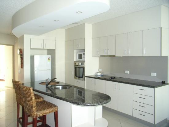 The Waterford Prestige Apartments: Large self contained kitchens