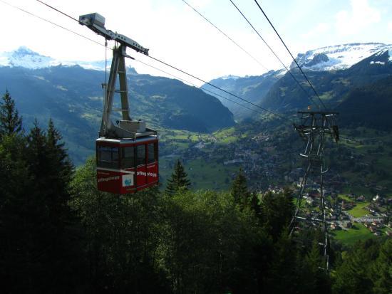 Grindelwald, Zwitserland: Pfingstegg Gondola