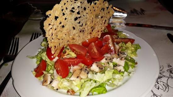 Hosteria Cumbres Blancas: light food!!, muy buena !!!