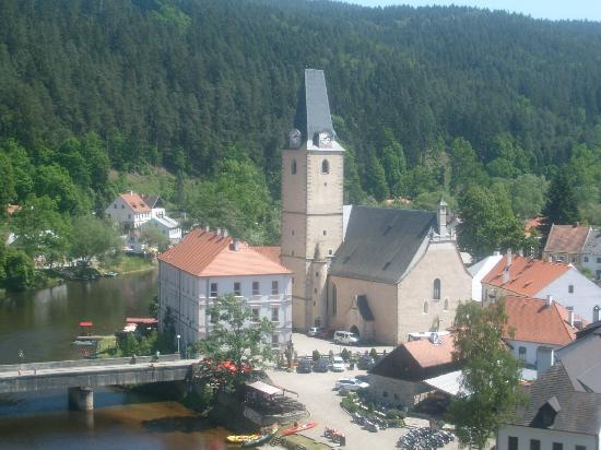 Rozmberk nad Vltavou, Republik Ceko: The Church of St. Nicholas