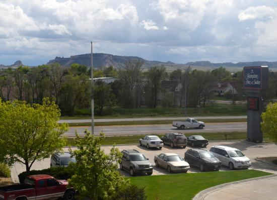 Hampton Inn & Suites Scottsbluff Conference Center: View from room of Scottsbluff