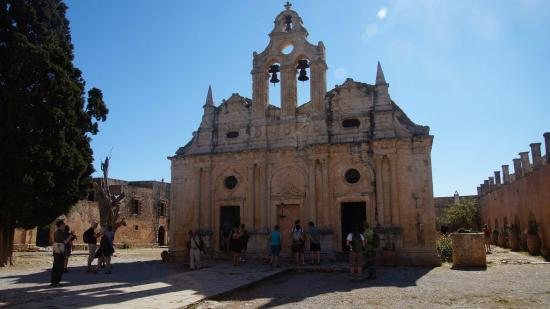 Adelianos Kampos, Greece: Arkadi Monastery
