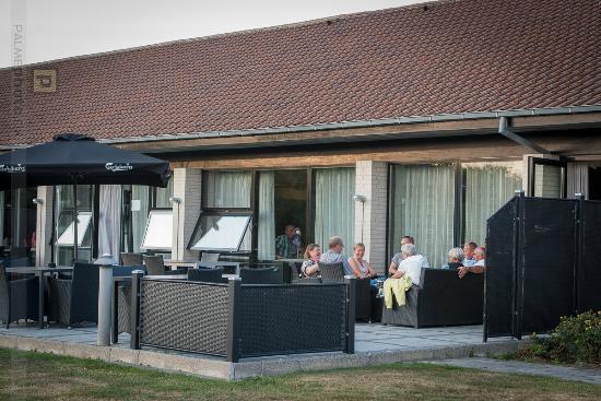 Hotel FjordGaarden: Terrassen