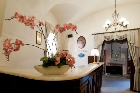 Lobby in hotel Amadeus