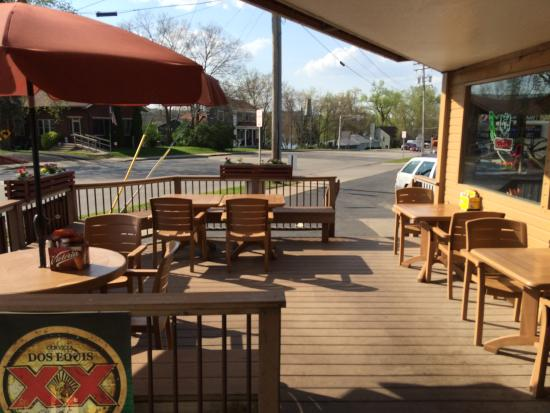 Enrique's mexican and american grill: The Deck