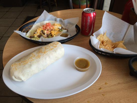 Enrique's mexican and american grill: A really good, simple meal!