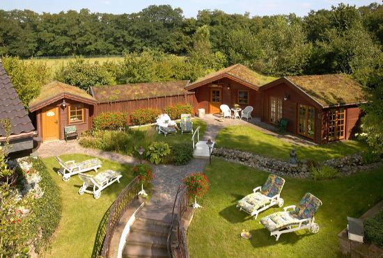 Romantik Hotel Gravenberg: Saunagarten