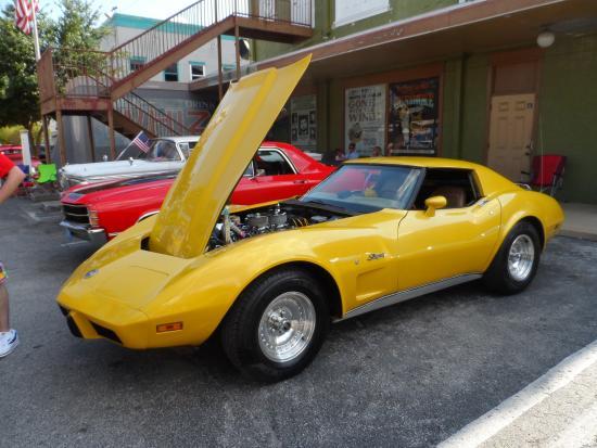 Old Town Kissimmee Corvette Car Show