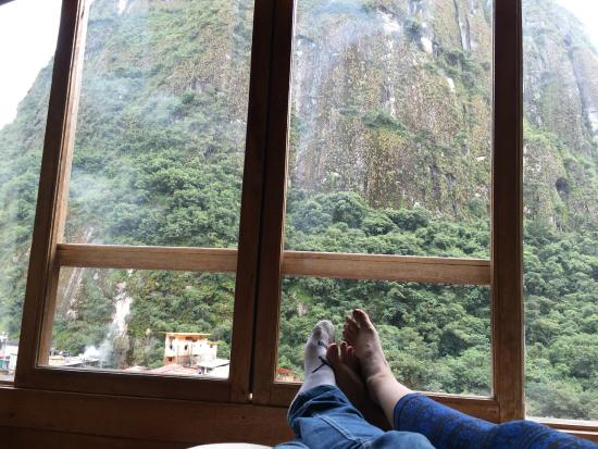 Rupa Wasi Lodge: View from the room