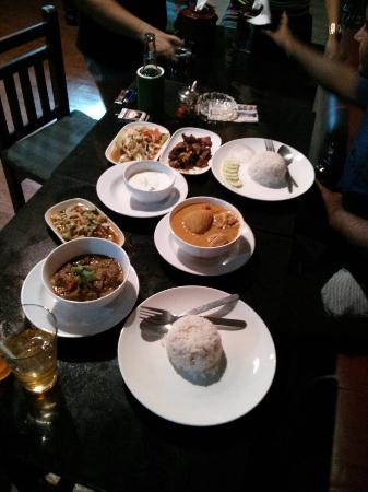 Happy Days: Amazing Thai food.