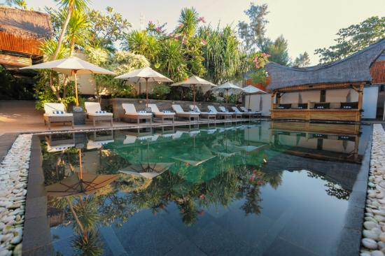 Scallywags Resort: Daytime Pool View