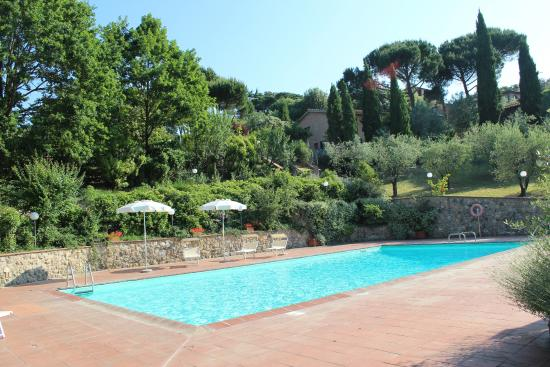 Villa Agostoli: The best place to soak up the sun in Siena ;-)