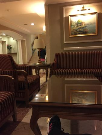 Taksim Metropark Hotel: lobby