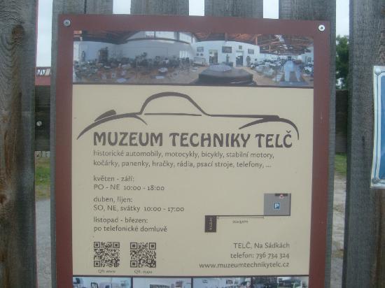 Telc, Tjekkiet: Muzeum Techniky
