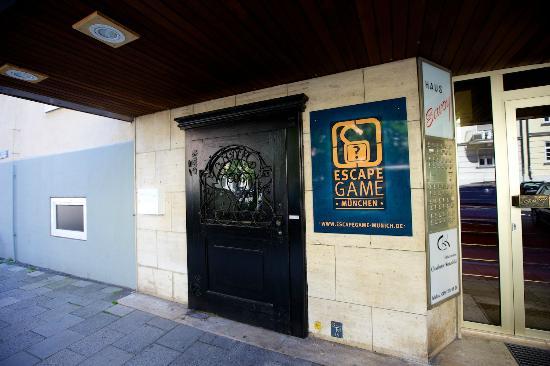EscapeGame München Schwabing: Main entrance