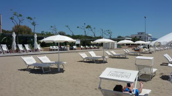 Schuhmann Strand Hotel: spiaggia