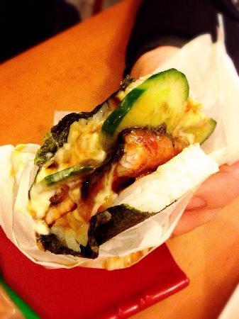 Sushi Burger: 12/6/15