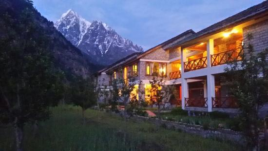 Banjara Camp &  Retreat - Sangla Valley Camp : Sangla, with its River Baspa and numerous tributaries, meadows, snow lad mountain tops is a grea