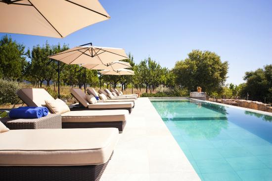Petit Hotel Son Arnau: Relax by the pool