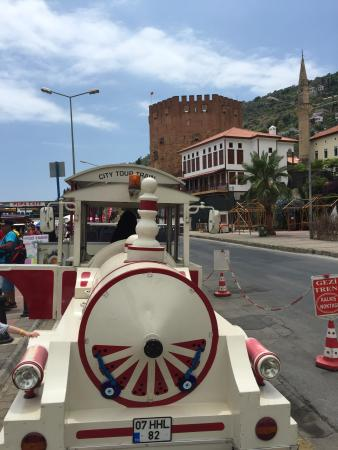 Alanya City Tour Train : Start and finish point of the train