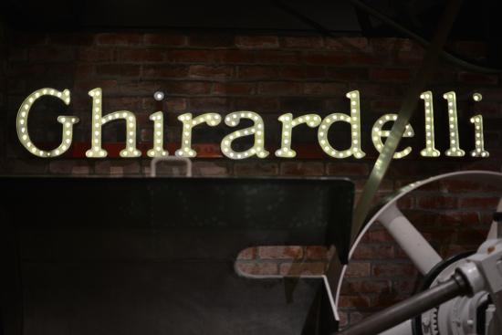 The Sign Board - Picture of The Original Ghirardelli Chocolate
