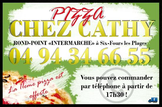 la carte picture of pizza chez cathy six fours les plages tripadvisor. Black Bedroom Furniture Sets. Home Design Ideas