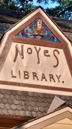 Kensington, MD: Noyes carved wise owl
