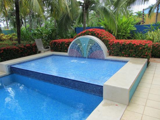 Alma del Pacifico Beach Hotel & Spa: Mosaic Pool Costa Rica