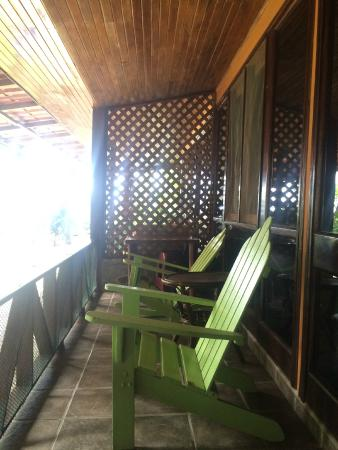Hotel Rancho Coral: Spacious balconies with a view of the garden