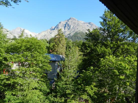 Monte D'Oro : vista dalla camera