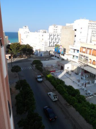 Hotel El Faracha: View from room balcony.