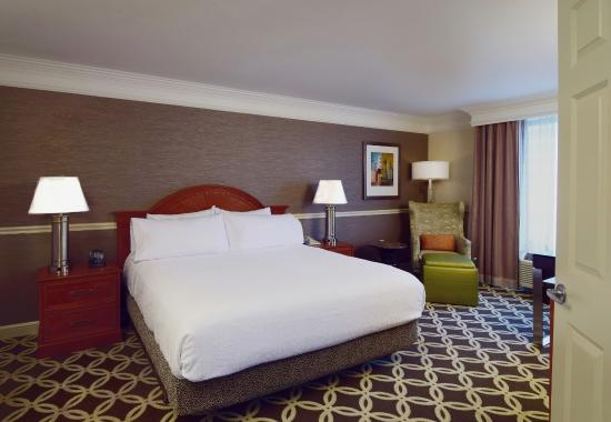 Presidential Suite Bedroom Picture Of Hilton Garden Inn Chicago North Shore Evanston Tripadvisor