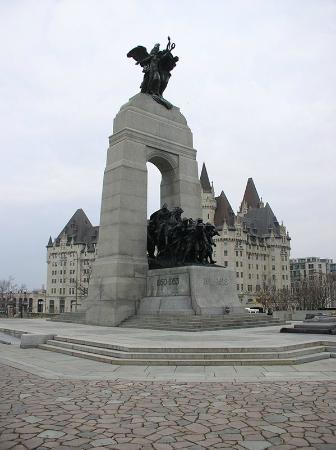Оттава, Канада: Национальный военный мемориал