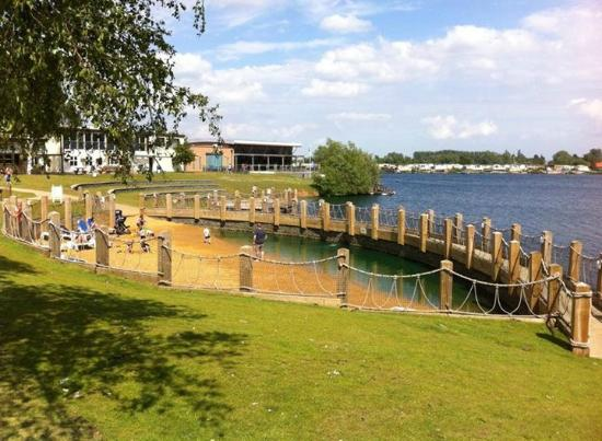 Also Has A Man Made Beach Area By The Water Skiing Lake