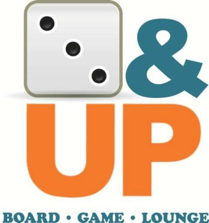 3&UP Board Game Lounge: 3&UP Logo