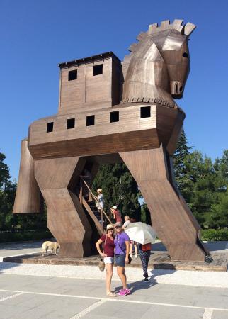 Reproducción del caballo de Troya - Picture of Troy (Truva ...