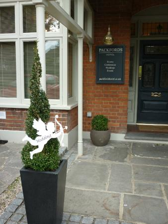 Packfords Hotel: Hotel entrance