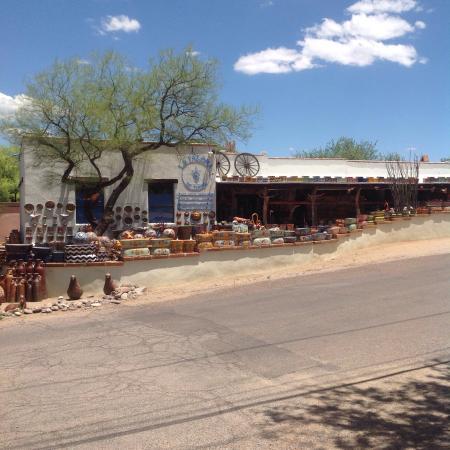 Tubac, AZ: La Paloma from the street
