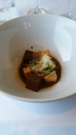 Le Cor de Chasse: joue de boeuf, foie gras, persil des marais