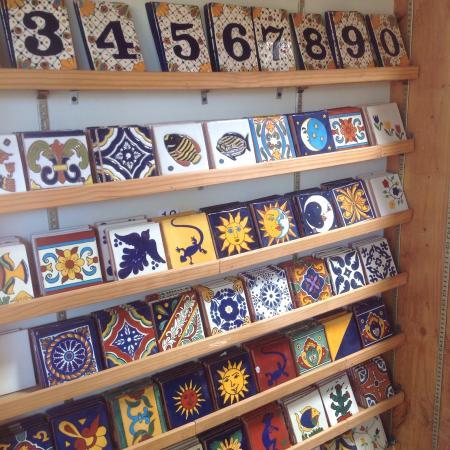 Tubac, AZ: Tiles and artwork
