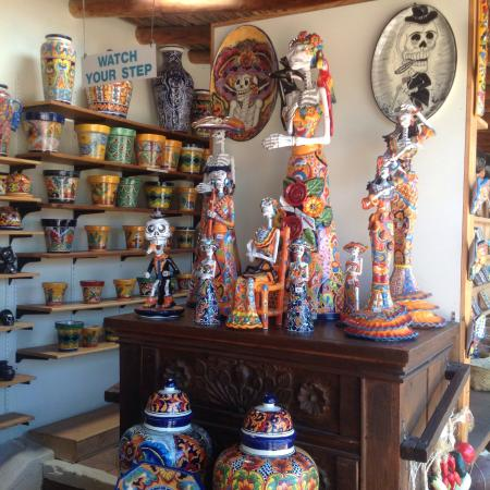 Tubac, AZ: Tiles and artwork